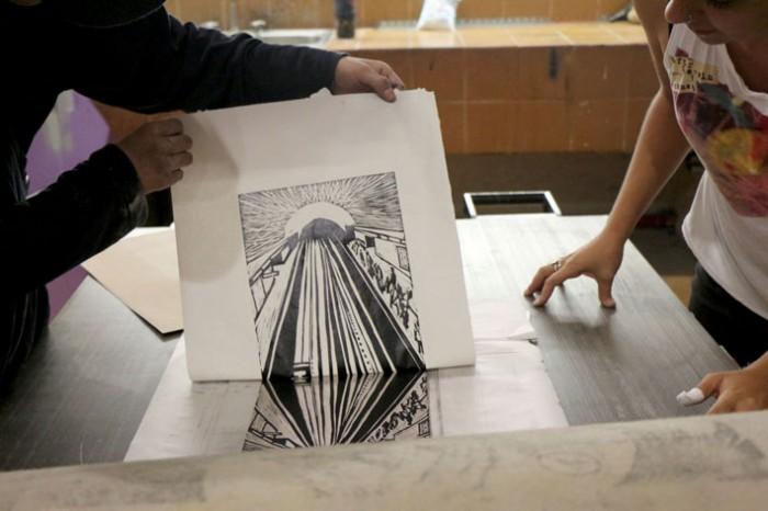 Carving on Linoleum Workshop