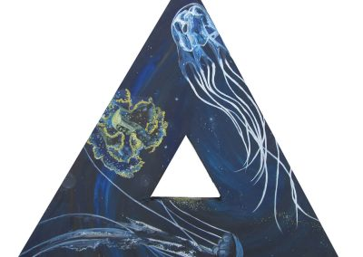 Mar - Azul profundo
