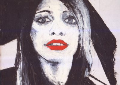 Red lips - Paola Beck