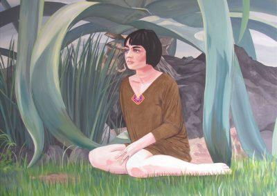 Ana y el maguey - Paola Beck Paintings