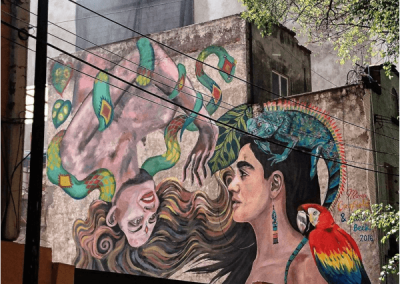 Sisterhood - Paola Beck Murals