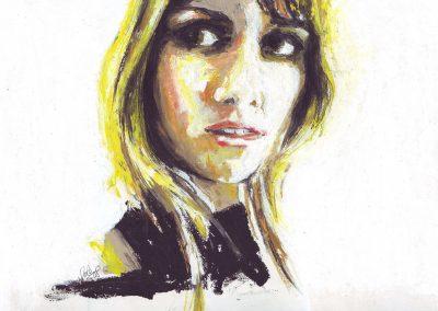 Self portrait - Paola Beck