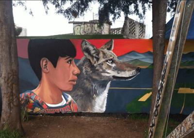 El mirador - murales - paolabeck